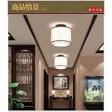 Đèn Led Treo Trần Phòng Ngủ Hình Tròn Bằng Vải Phong Cách Trung Hoa giảm  chỉ còn 1,075,700 đ