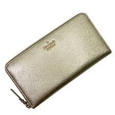 brandvalue kate spade kate spade round fastener long wallet gold patent leather lady s t13637 rakuten global market