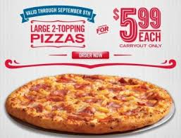 loving all the pizza deals lately from now through september 9th you can score a large 2 topping domino s pizza for just 5 99 just enter the promo code