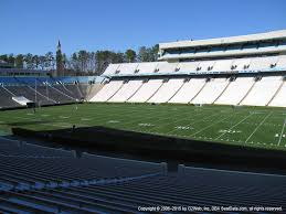 Crown Center Of Cumberland County Seating Chart Kenan Stadium View From Lower Level 128 Vivid Seats