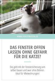 Fenstersicherung Für Katzen Ohne Bohren Blog Beiträge