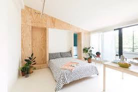 Small Bedroom Apartment 300 Square Foot Tiny Studio Apartment With Flexible Living Space
