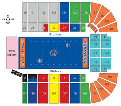 Cactus Bowl Seating Chart Boise State Broncos 2016 Football Schedule