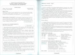 Two Page Resume Format Stunning Sample One Page Resume Format One Page Resume One Page Resume Format