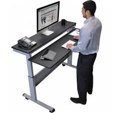 adjustable standing desk crank. Interesting Standing 60 Intended Adjustable Standing Desk Crank