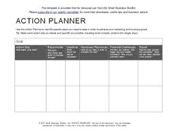 Action Plan Template 10 Effective Action Plan Templates You Can Use Now Action
