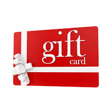 Gift Cards (malls, movies, stores, etc.)
