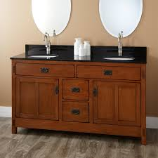 Oak Bathroom Cabinet Basin Countertop Vanity Unit With Ceramic - Oak bathroom vanity cabinets