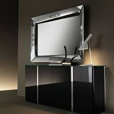 Ein dekorativer spiegel gerne als wohnzimmer spiegel platzieren. Wandmontierter Spiegel Caadre Fiam Italia Stand Hangend Modern