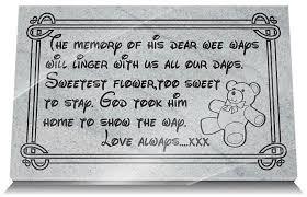 memorial gifts loss grandchild