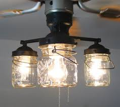 lighting canning jar light fixture astonishing to make ball chandelier diy fixtures vintage ceiling fan