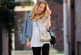 outfit of the day zara blue leather jacket