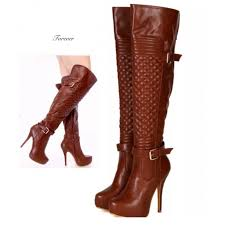 knee high leather boots vegan