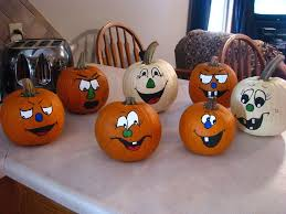 best 25 painted pumpkin faces ideas on painting