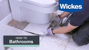 how to tile around a toilet with wickes
