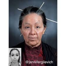 makeup prosthetic gelatine old age