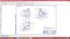 Курсовая работа на тему Процесс изготовления стойки опорной  чертеж Курсовая работа на тему