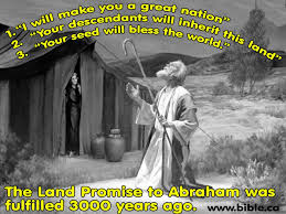 Image result for israel the land promised to abraham isaac and jacob