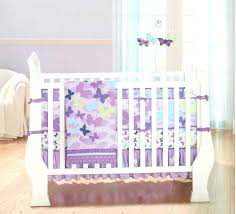 baby girl erfly bedding sets erfly purple blue green baby girl nursery bedding set by just
