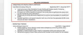 Marketing Intern Resume Interesting Marketing Intern Resume Sample Writing Tips Resume Companion