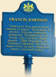 Francis Johnson Historical Marker