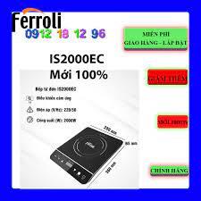 Bếp từ đơn Ferroli IS2000EC 2000W