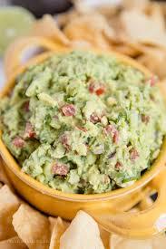 fresh and easy guacamole recipe