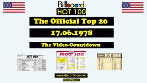 Billboard Charts 1978 Top 100 As Top20 Chart History