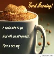 Morning Coffee Quotes Gorgeous Good Morning Coffee Quote