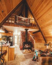 Tiny A-frame cabin