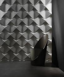 caos by 3d surface wall panels
