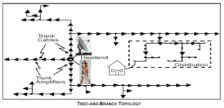 introduction to catv network topology distribution plant