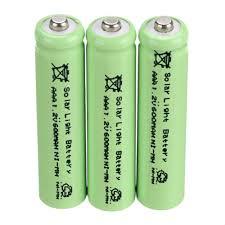 Popular Solar Aaa BatteryBuy Cheap Solar Aaa Battery Lots From Solar Garden Lights Batteries Rechargeable