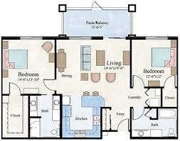 2 bedroom 2 bath apartment. floor plan 2 bedroom bath apartment