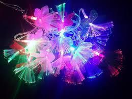 Fiber Optic Blossom Led String Lights Buy Drv Sales 10 Ft Led Fibre Optic Light 16 Flower String