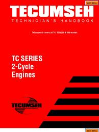 TC Series 2 cycle engines[1]   Carburetor   Gasoline
