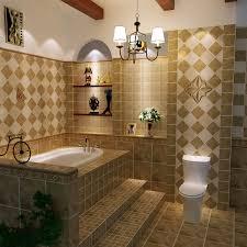 Clear Glass Backsplash Ceramic Tile Designs For Bathroom Walls Brown Ceramic Tiled