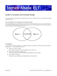compare and contrast essay a traditional class vs an  compare and contrast