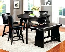 Curved dining bench Round Dining Small Dining Bench Small Dining Table With Benches High Bench Table Dining Table And Bench Curved 90shadypinesinfo Small Dining Bench Zwaluwhoeveinfo