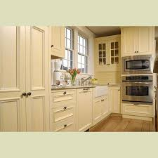 Kitchen : Exquisite Cool Painted Cream Cabinets Images Solid Wood ...