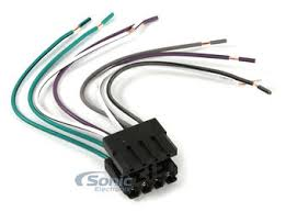metra met wire harness to connect an aftermarket zoom