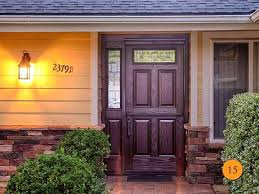 black front door with glass fiberglass dutch front door with sidelight front door with glass panels