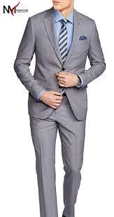 Alton Gray Size Chart Nmfashions Alton Gray High Qaulity 2 Piece Suit At Amazon