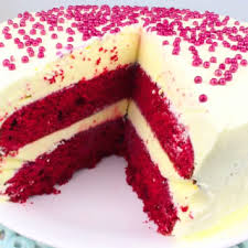 Red Velvet Ice Cream Cake Recipe