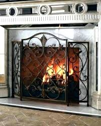 decorative fireplace screen decorative fireplace screens wrought iron full size of scree decorative fireplace screens