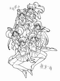 Small Picture Sailor Moon Coloring Pages