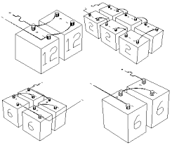 battery wiring diagrams 12 volt battery wiring