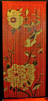 Bamboo Beaded Door Curtains Australia - Curtain Designs