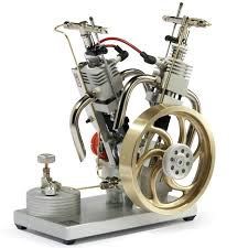 the desktop v twin engine hammacher schlemmer