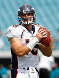 jacksonville fl september 12 quarterback tim tebow 15 of the denver broncos practices prior to the nfl season opener game against the jacksonville